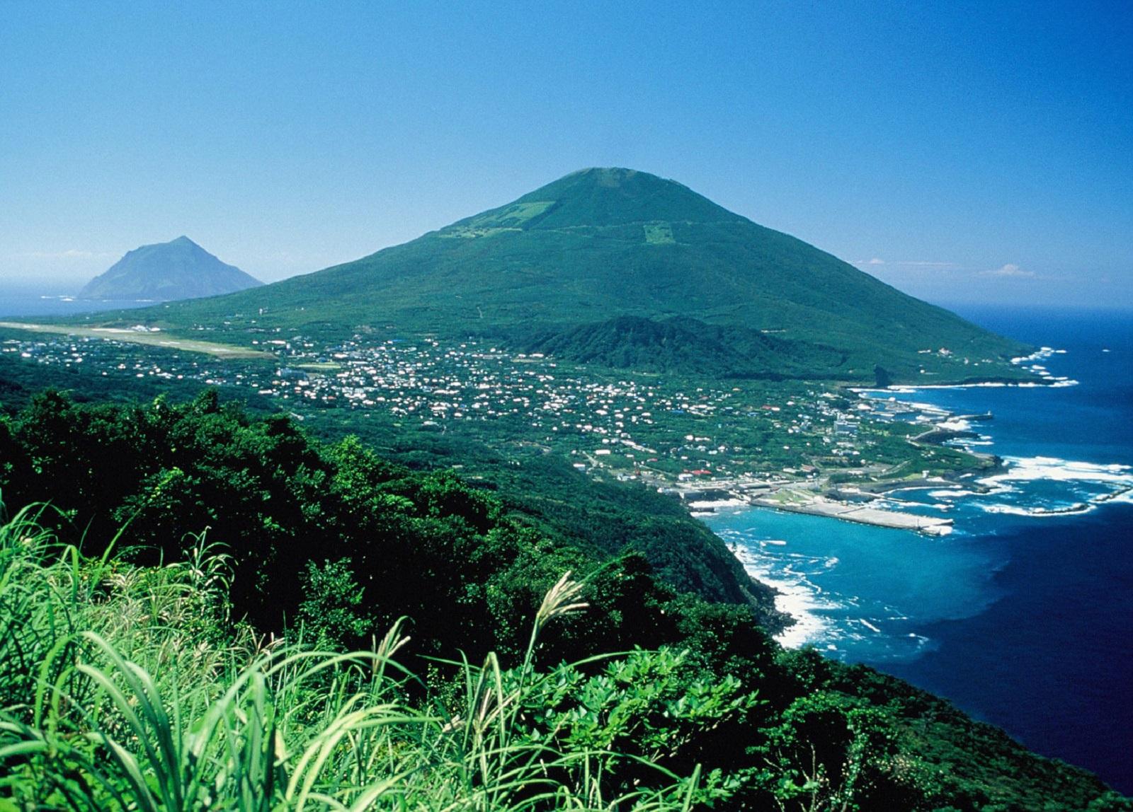hachijojima, isla de Japón