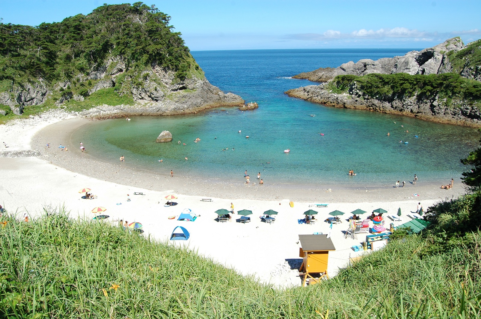 Playa tomari isla Shikinejima