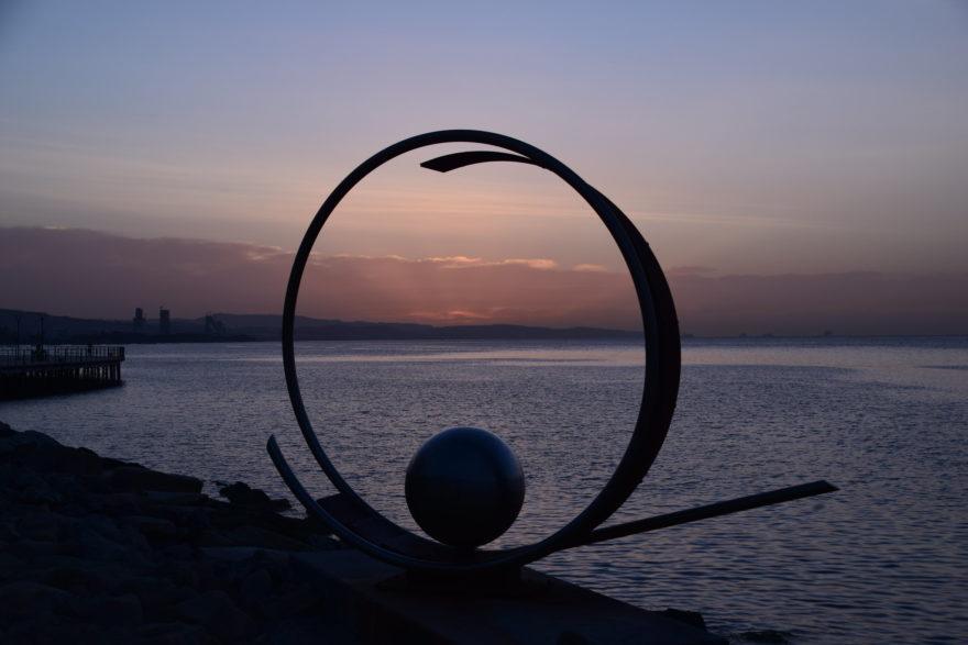 Amanecer en Limassol, una de las ciudades de la isla de Chipre
