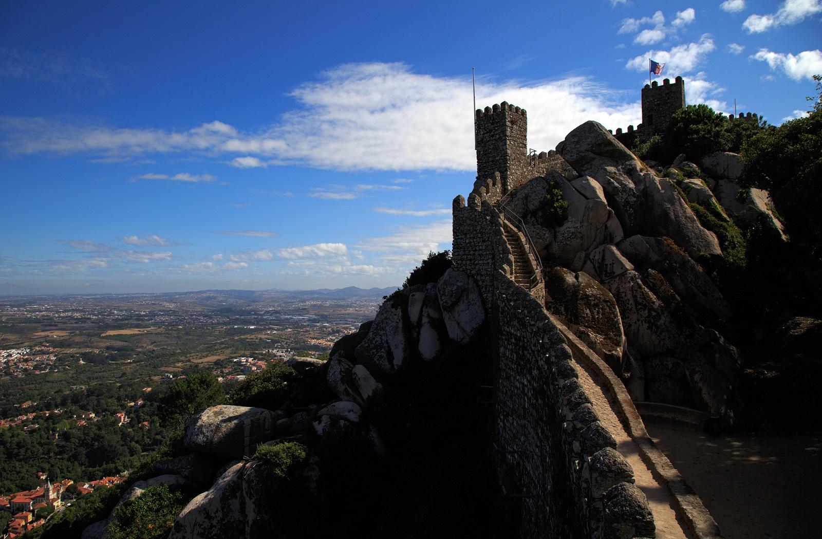 Sintra Castillo De Los Moros