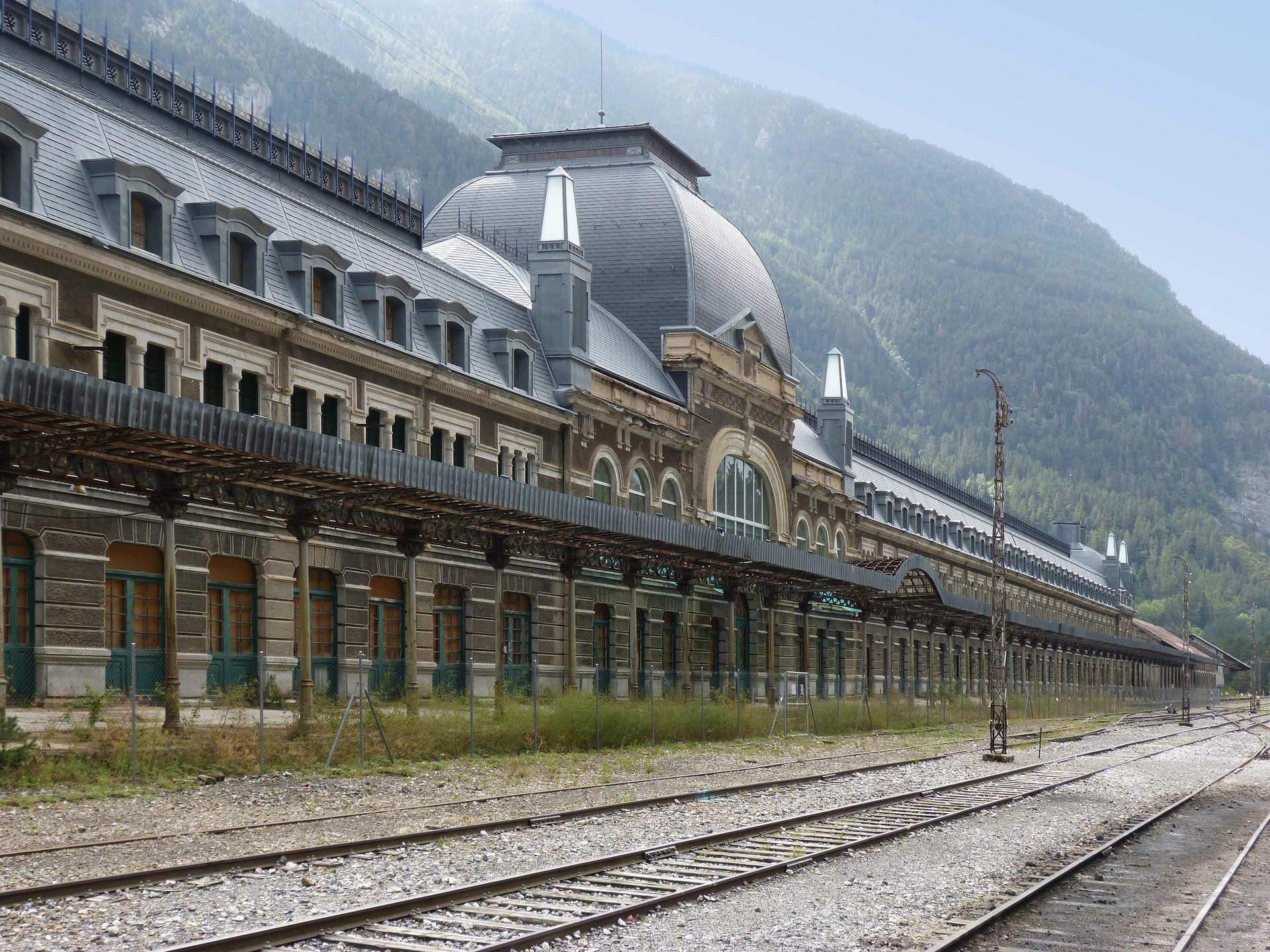 Estacion Canfranc Jaca