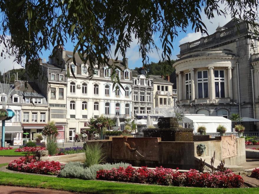 Spa, ciudad balneario de Bélgica
