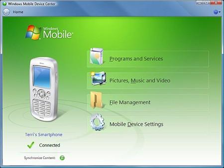 Windows Mobile Center 6