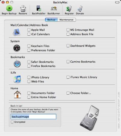 BackityMac, haz copias de seguridad