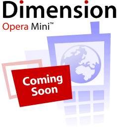 Opera Dimension Mini