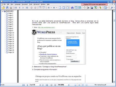 Alternativas Adobe Reader (III): Foxit PDF Reader