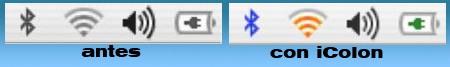 iColon, colorea tu barra de menu