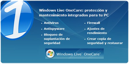 Windows Live OneCare, tu salvación