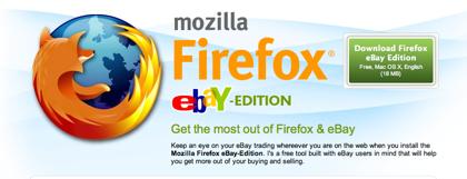 Mozilla Firefox eBay Edition
