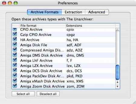 Descomprimiendo en Mac