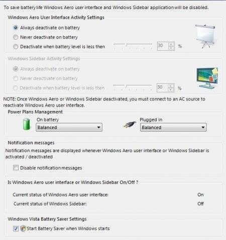 Vista Battery Saver Beta 2