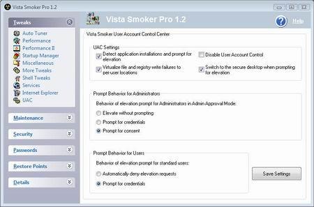 Tunea tu Windows con Vista Smoker Pro
