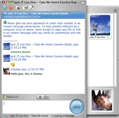 Microsoft Messenger 6