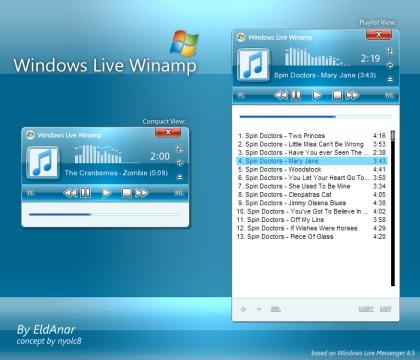 Winamp Skin Vista