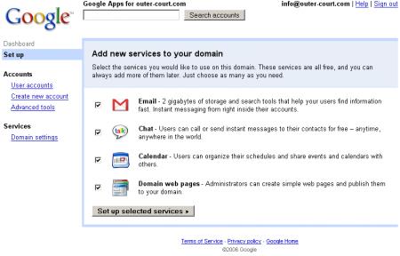 Probando Google Apps