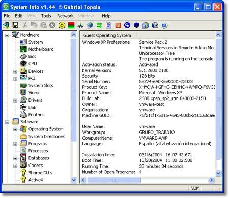 SIW, la información de tu PC