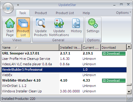 UpdateStar, tu software al día