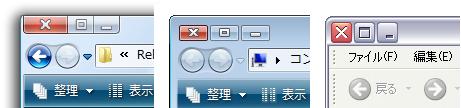 Botones de ventana a la izquierda en Windows
