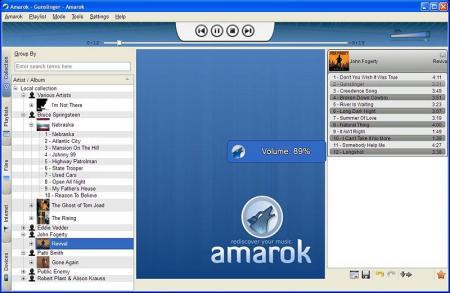 Amarok llega a Windows