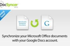 DocSyncer, sincroniza Google Docs y MS Office