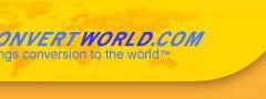 Conversor de medidas online con Convertworld