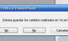 Error absurdo de PowerPoint