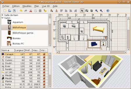 Sweet home 3d dise o de interiores multiplataforma for Software diseno de interiores 3d