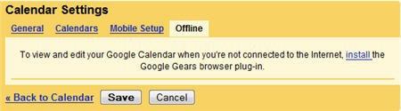 Google Calendar podrá sincronizarse off-line