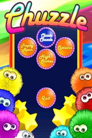 Juego para iPhone, Chuzzle