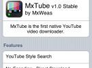 Mxtube, descarga videos de youtube en tu iPhone.