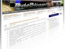 Herramientas para blogs, otra incorporación: BdeBloggers