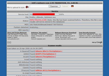 Jotti's Malware Scan