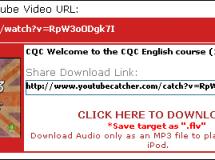 YouTube Catcher: Descarga vídeos de youtube