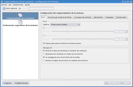 Activar las sombras en KDE 2