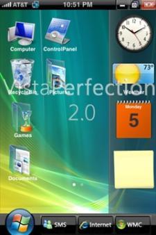 Dale el look de Vista a tu iPhone