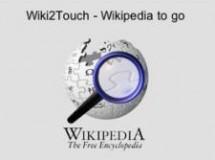 Wiki2Touch, la Wikipedia en tu iPod Touch o tu iPhone