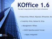 KOffice 2.0 será multiplataforma