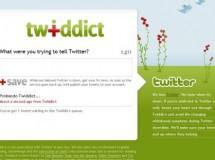 Twiddict, o como twittear mientras el pájaro intenta volar