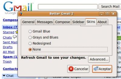 Mejora Gmail con Better GMail 2