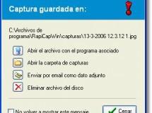 Captura la pantalla con RapidCapWin
