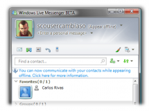 Windows Live Messenger 9 disponible para descargar…