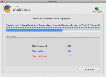 iAntiVirus, antivirus para Mac