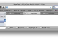 Integra Firefox con MacOS X y con Windows Vista