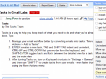 Gestor de Tareas de Gmail: Gmail Tasks