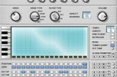 Virtual BassLine, sintetizador musical de bajos