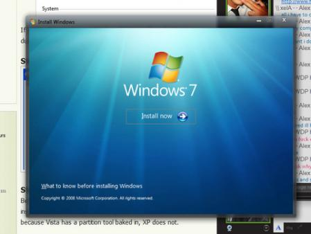 Anunciada la lista de mejoras para Windows 7 RC