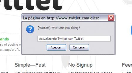 Twitlet