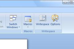 Writespace, o cómo transformar Word 2007 en un entorno sin distracciones