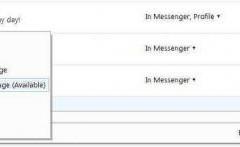 Hotmail con chat dentro de la casilla de correo