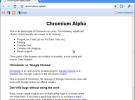 Chromium Browser alcanza el estado de alpha